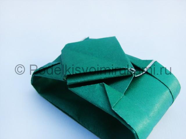 Как сделать танк из бумаги своими руками. Фото 21.