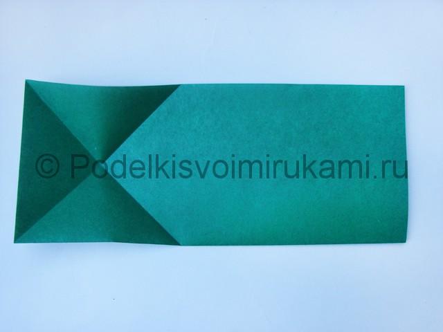 356Как сделать оригами из прямоугольной бумаги