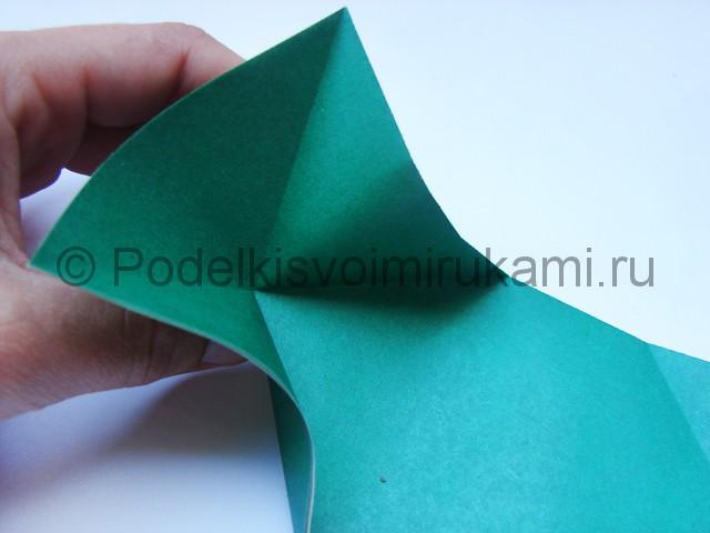 Как сделать танк из бумаги своими руками. Фото 8.