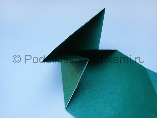 Как сделать танк из бумаги своими руками. Фото 9.