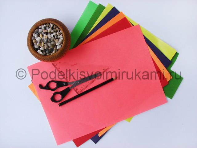 Как сделать тюльпаны из бумаги своими руками. Фото 1.