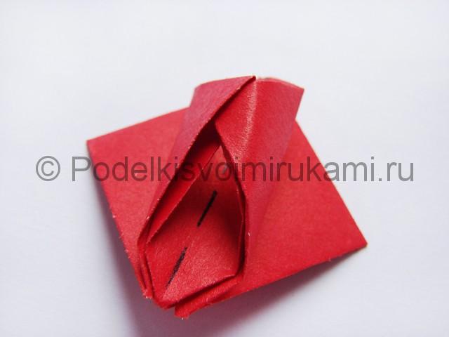 Как сделать тюльпаны из бумаги своими руками. Фото 13.