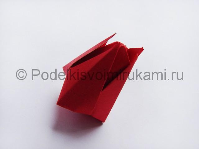 Как сделать тюльпаны из бумаги своими руками. Фото 16.