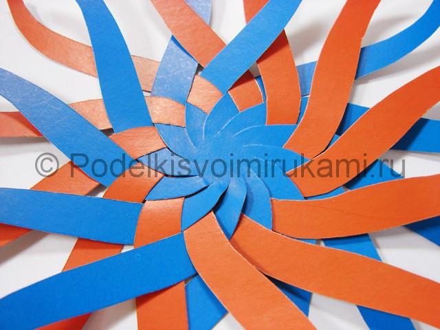 Как сделать воздушный шар из бумаги. Фото №10.