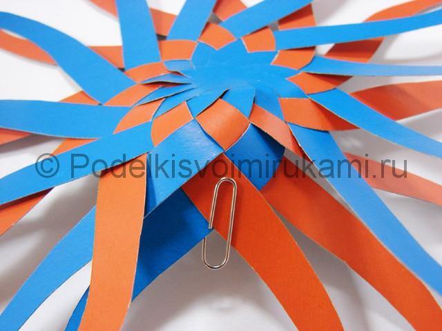 Как сделать воздушный шар из бумаги. Фото №12.