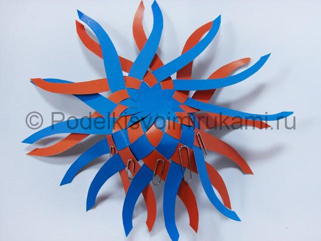 Как сделать воздушный шар из бумаги. Фото №13.