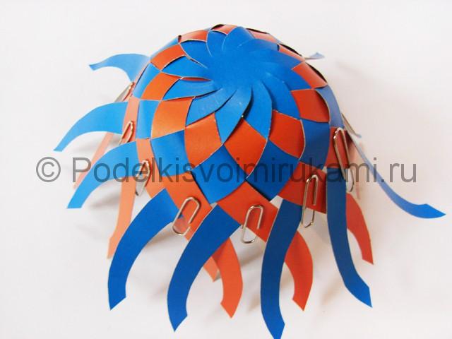 Как сделать воздушный шар из бумаги. Фото №14.
