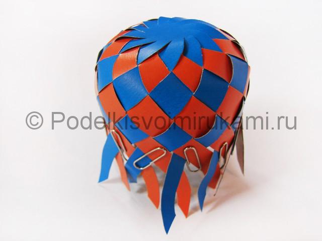 Как сделать воздушный шар из бумаги. Фото №15.