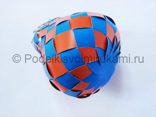 Как сделать воздушный шар из бумаги. Фото №19.