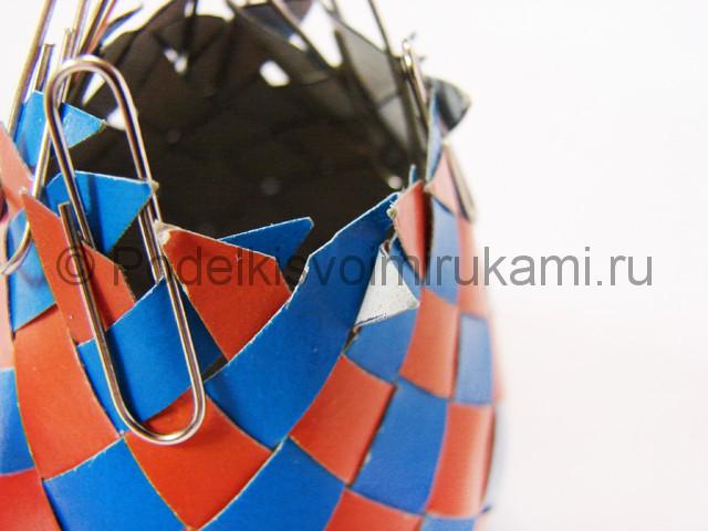 Как сделать воздушный шар из бумаги. Фото №20.
