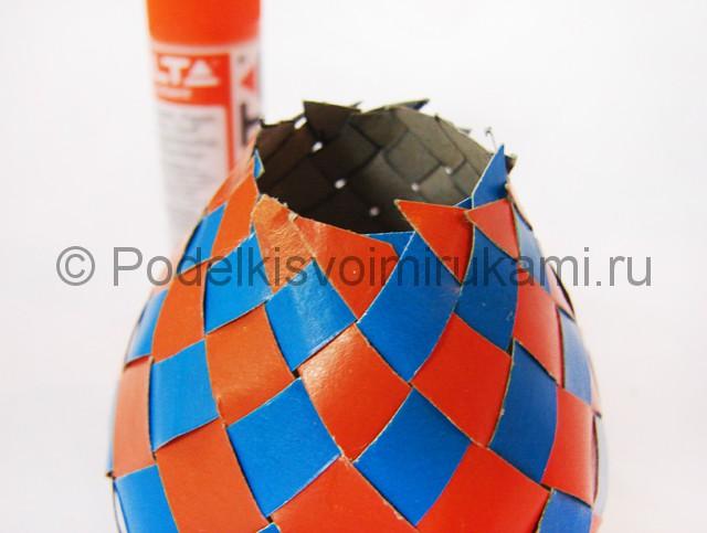 Как сделать воздушный шар из бумаги. Фото №21.