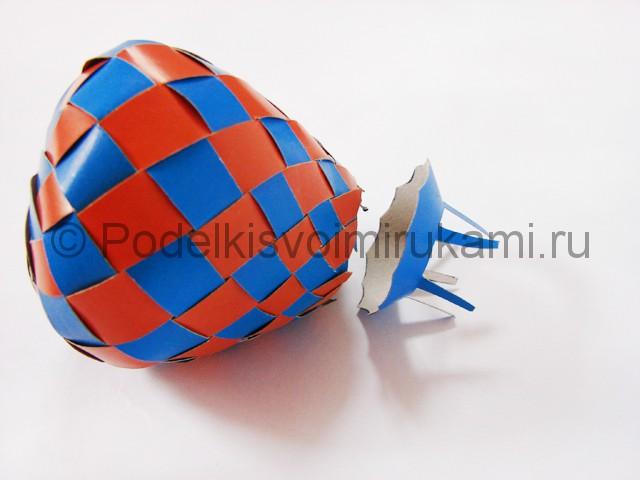 Как сделать воздушный шар из бумаги. Фото №26.