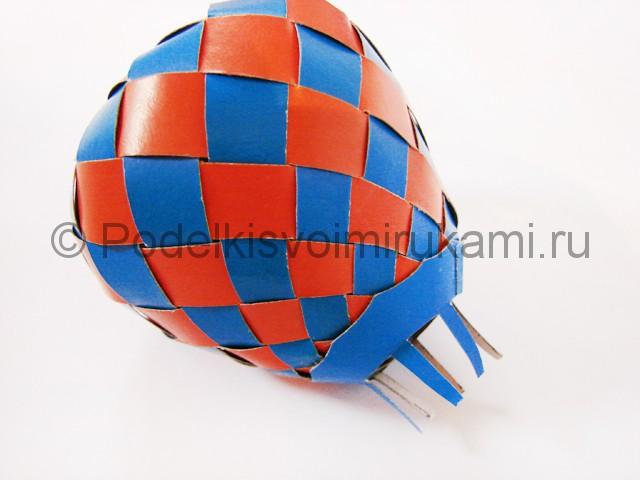 Как сделать воздушный шар из бумаги. Фото №27.