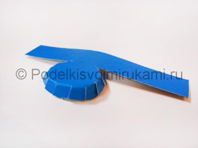 Как сделать воздушный шар из бумаги. Фото №28.