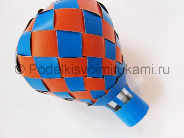 Как сделать воздушный шар из бумаги. Фото №31.