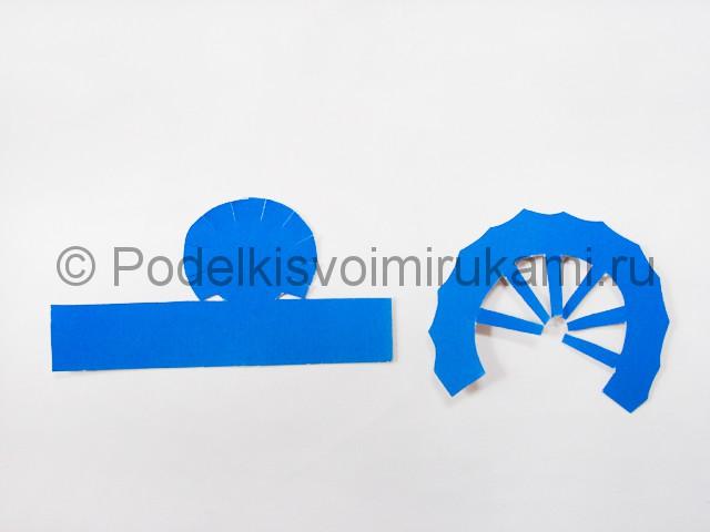 Как сделать воздушный шар из бумаги. Фото №4.