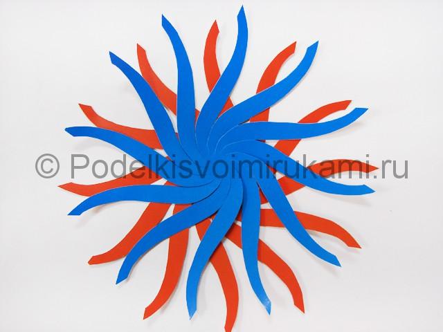 Как сделать воздушный шар из бумаги. Фото №5.