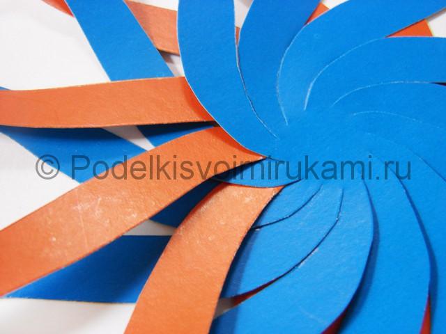Как сделать воздушный шар из бумаги. Фото №6.