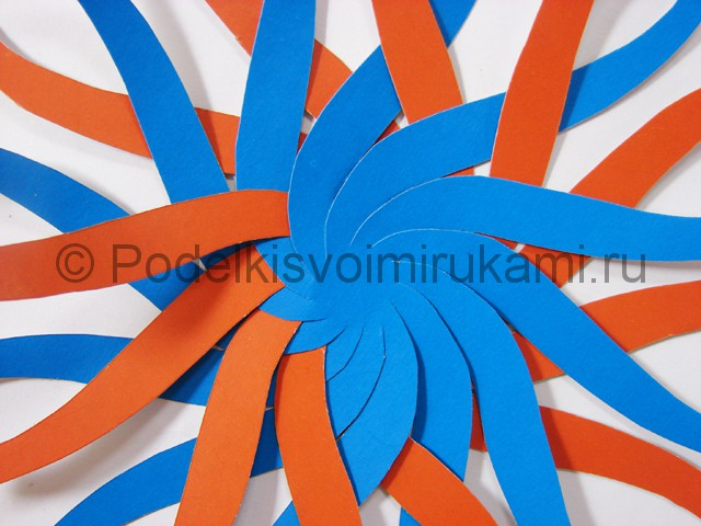 Как сделать воздушный шар из бумаги. Фото №7.