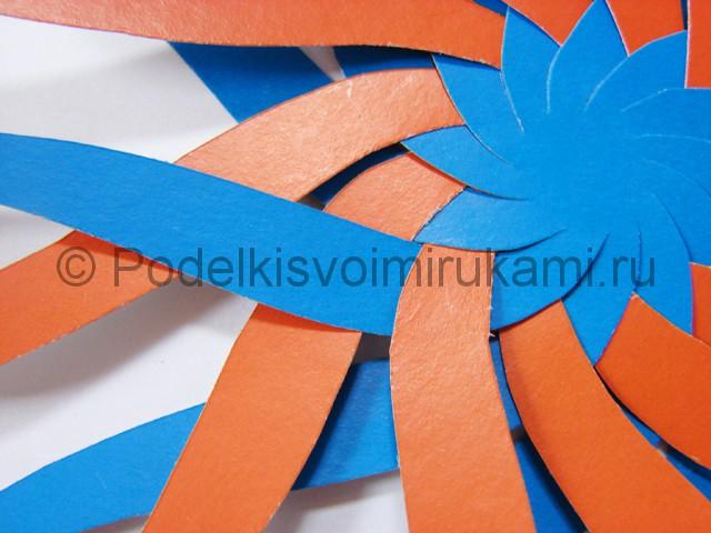 Как сделать воздушный шар из бумаги. Фото №9.