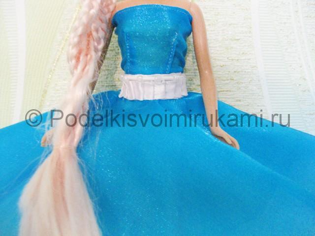 Как сшить пышное платье для куклы своими руками. Фото 17.