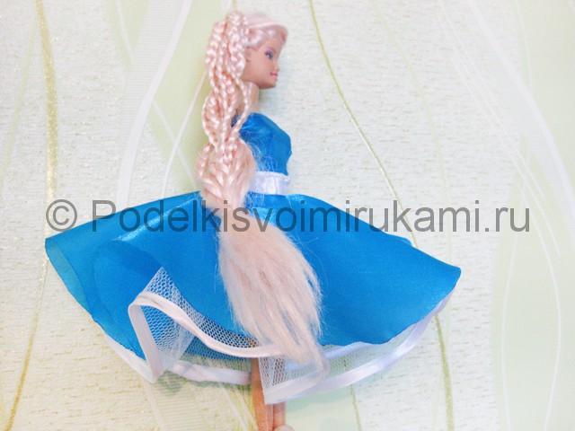 Как сшить пышное платье для куклы своими руками. Фото 18.