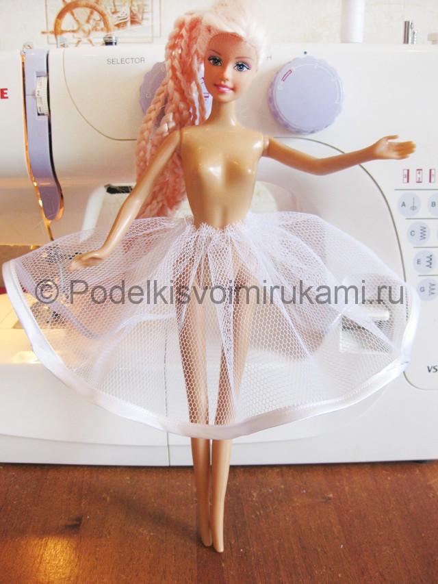 Как сшить пышное платье для куклы своими руками. Фото 7.