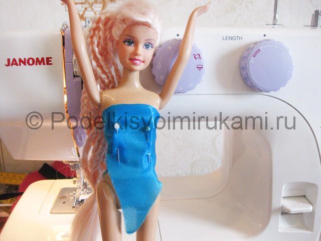 Как сшить пышное платье для куклы своими руками. Фото 8.
