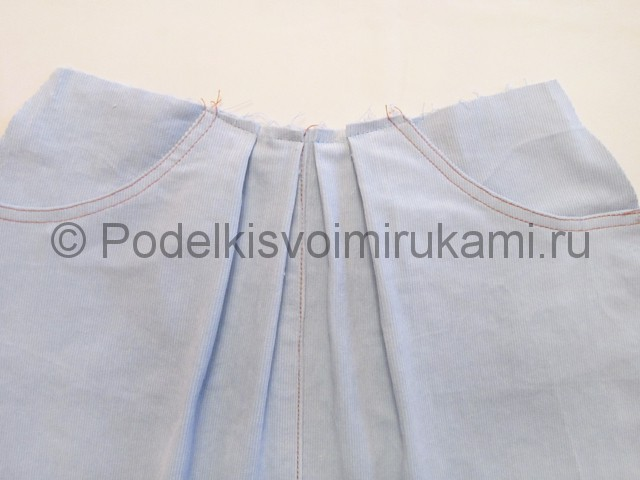 Как сшить юбку для девочки своими руками. Фото 8.