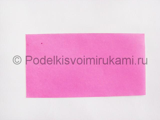 Поделка лотоса из бумаги своими руками. Фото 3.