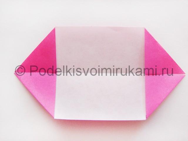 Поделка лотоса из бумаги своими руками. Фото 6.