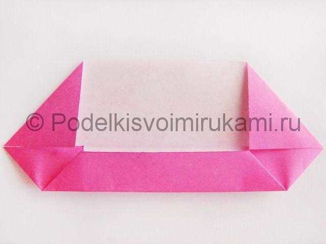 Поделка лотоса из бумаги своими руками. Фото 7.