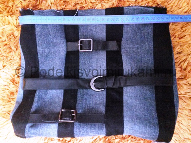 Сумка из старых джинс своими руками. Фото 12.