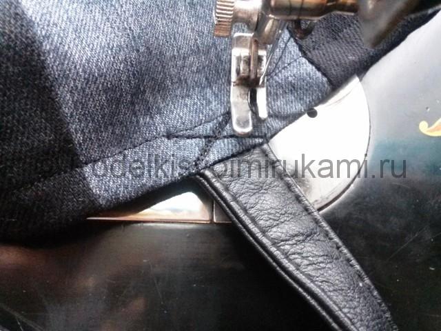 Сумка из старых джинс своими руками. Фото 16.