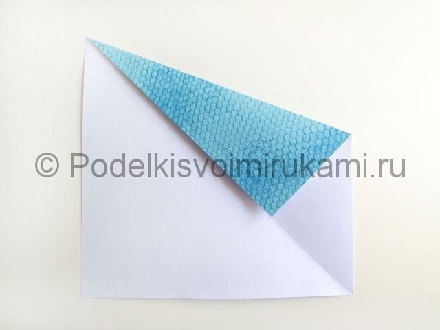 Змея из цветной бумаги. Пошаговый мастер-класс. Фото 4.