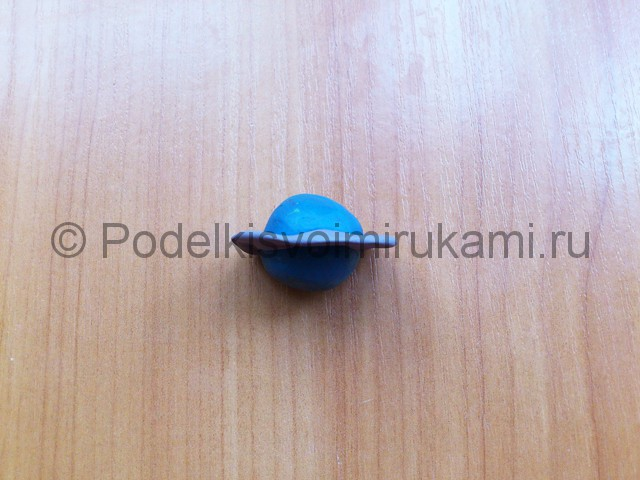 Солнечная система из пластилина. Шаг №12.
