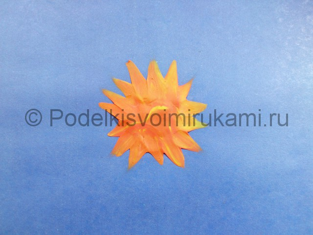 Солнечная система из пластилина. Шаг №3.