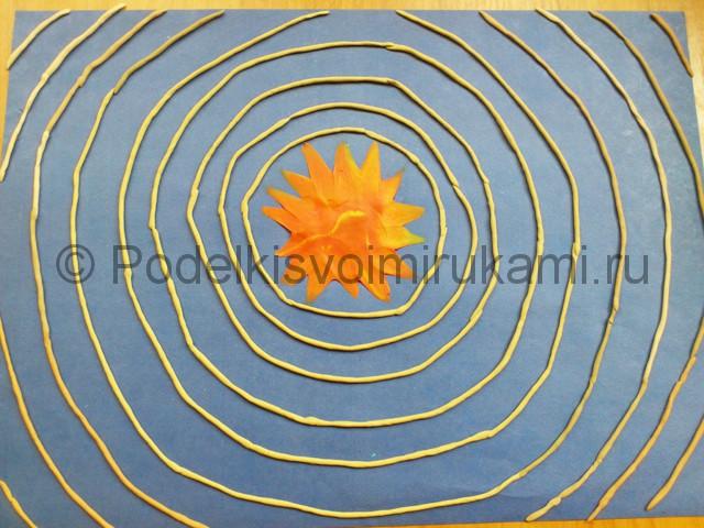 Солнечная система из пластилина. Шаг №5.