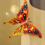 Бабочка из пластиковой бутылки. Итоговый вид поделки.