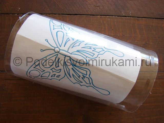 Бабочка из пластиковой бутылки. Фото 4.