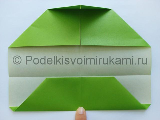 Поделка бумажного кошелька своими руками. Фото 12.