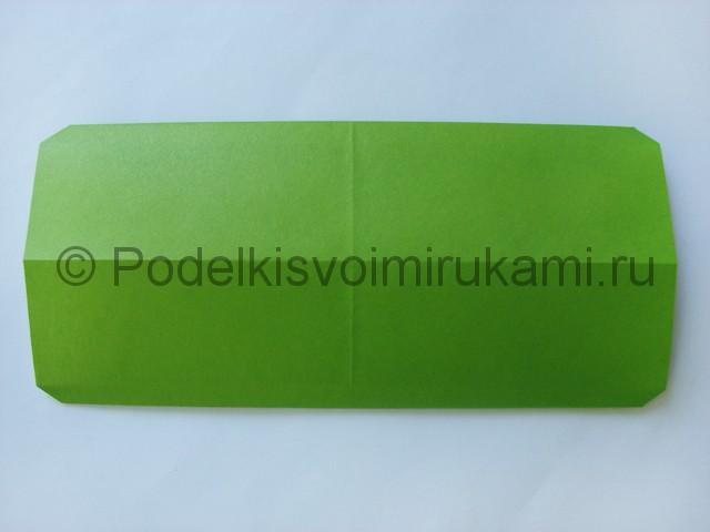 Поделка бумажного кошелька своими руками. Фото 14.