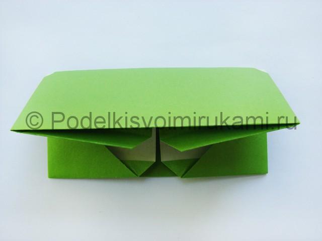 Поделка бумажного кошелька своими руками. Фото 17.