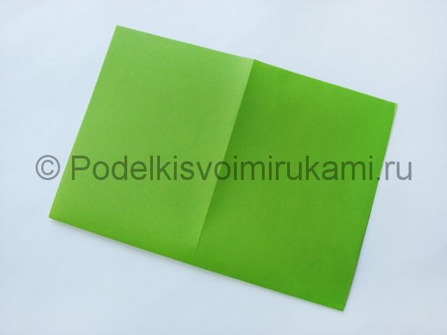 Поделка бумажного кошелька своими руками. Фото 3.