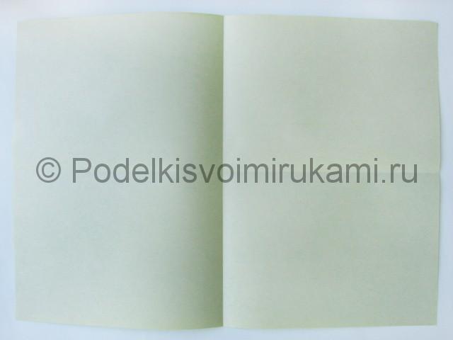 Поделка бумажного кошелька своими руками. Фото 4.