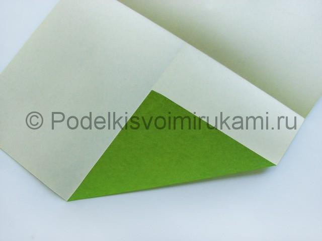Поделка бумажного кошелька своими руками. Фото 5.