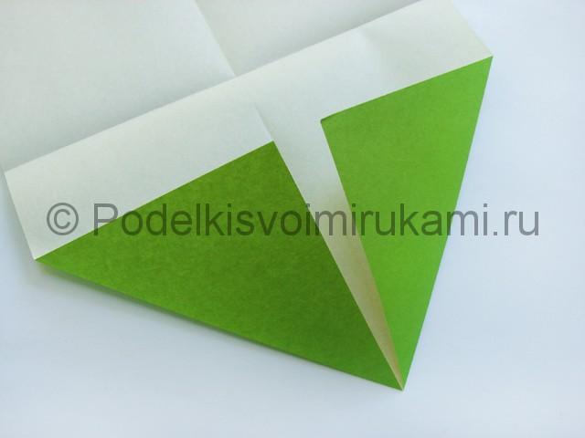 Поделка бумажного кошелька своими руками. Фото 6.