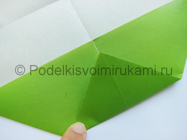 Поделка бумажного кошелька своими руками. Фото 9.