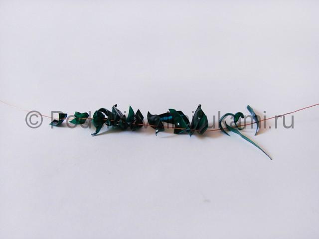 Как сделать дерево из пластиковой бутылки. Фото 13.