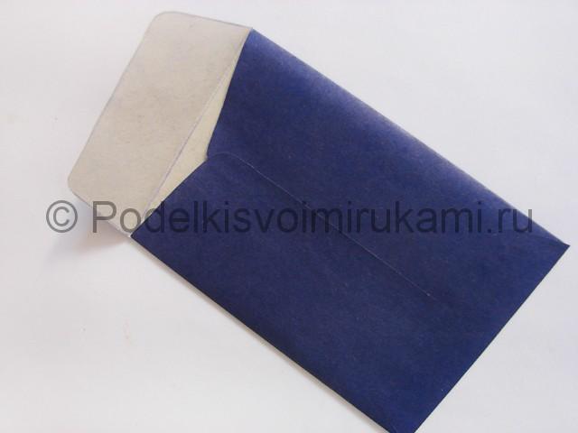 Как сделать конверт из бумаги. Фото 11.